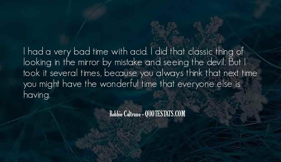 Robbie Coltrane Quotes #630321