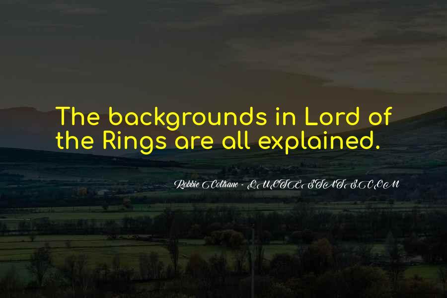 Robbie Coltrane Quotes #82538