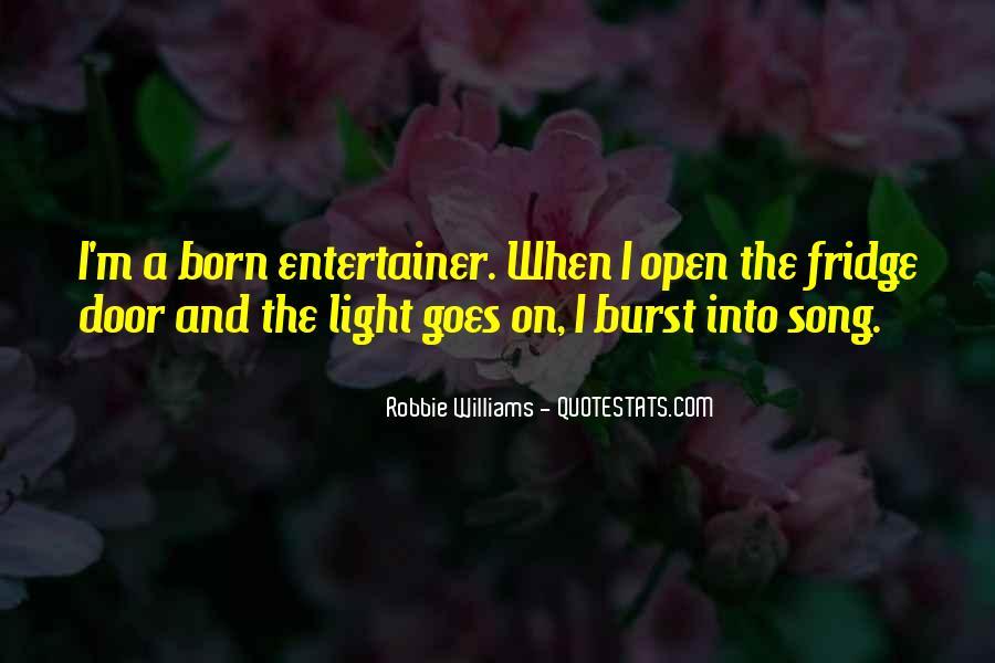 Robbie Williams Quotes #1133568