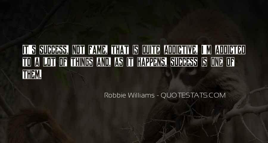 Robbie Williams Quotes #1136347