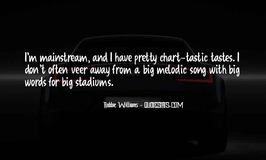 Robbie Williams Quotes #117205