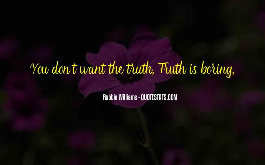Robbie Williams Quotes #1271498