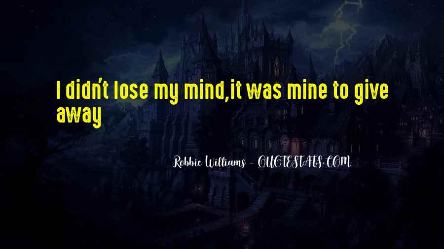Robbie Williams Quotes #1560442