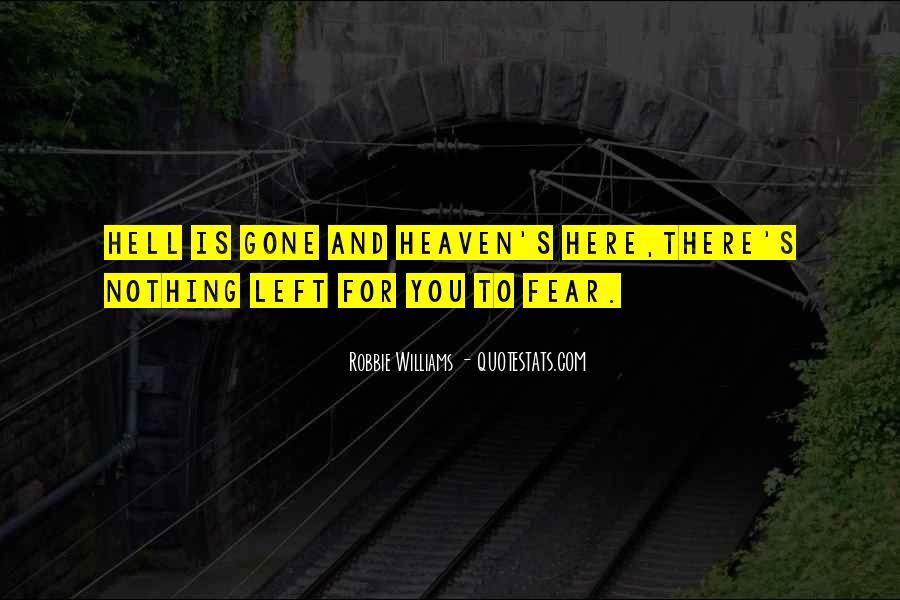Robbie Williams Quotes #177466