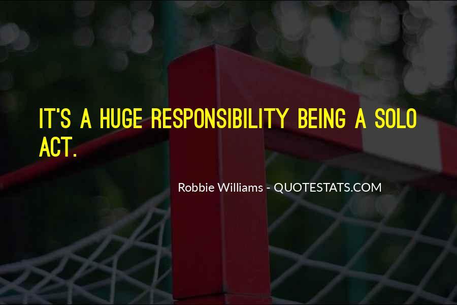 Robbie Williams Quotes #1818304