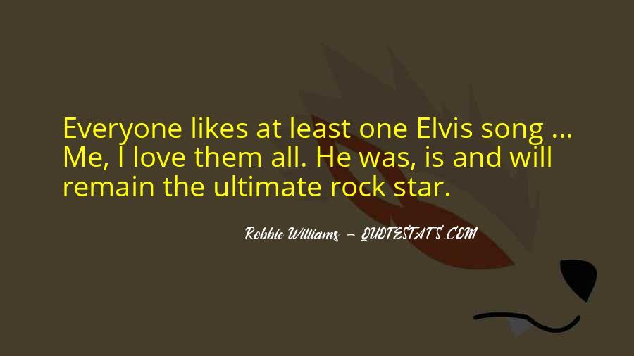 Robbie Williams Quotes #258974
