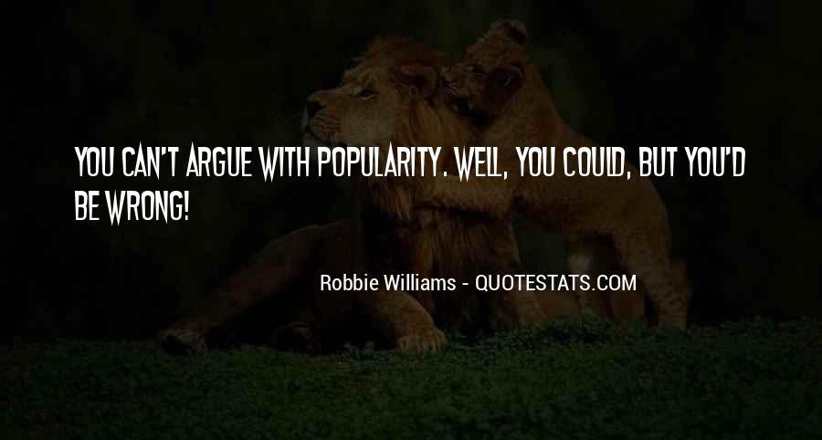 Robbie Williams Quotes #258991