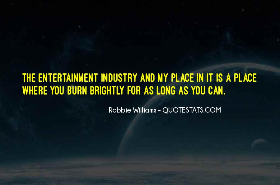 Robbie Williams Quotes #286210