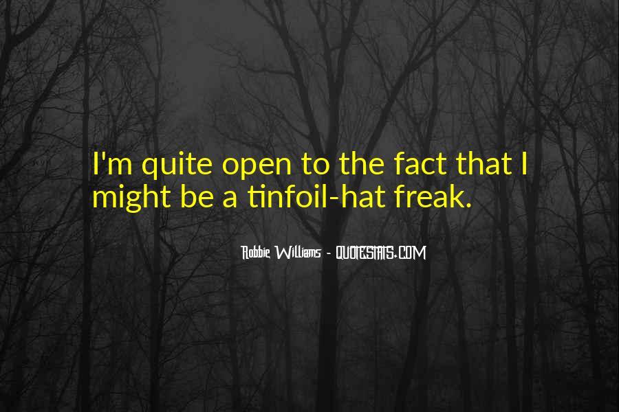 Robbie Williams Quotes #300530