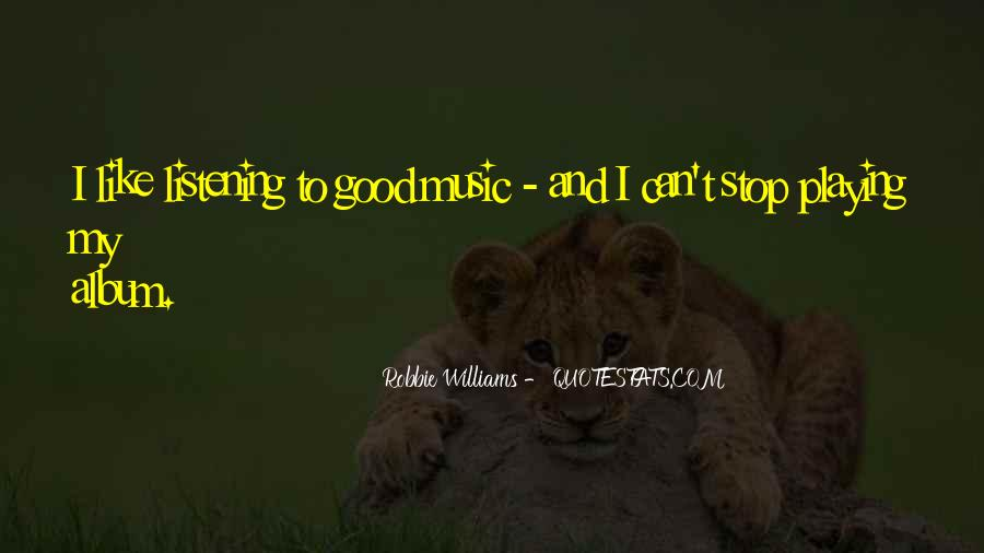 Robbie Williams Quotes #465288