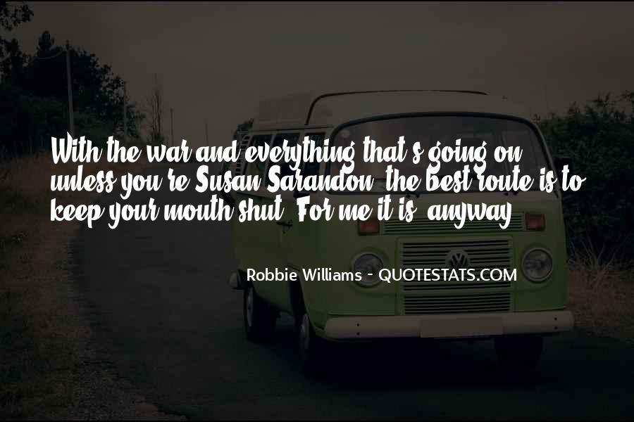 Robbie Williams Quotes #494647