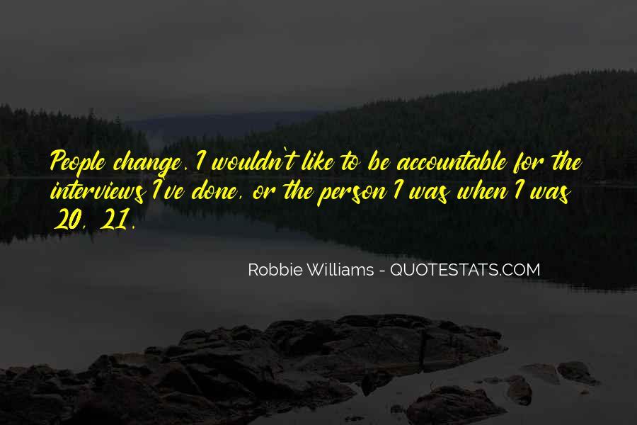 Robbie Williams Quotes #636250
