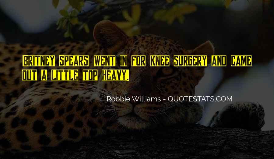 Robbie Williams Quotes #720190