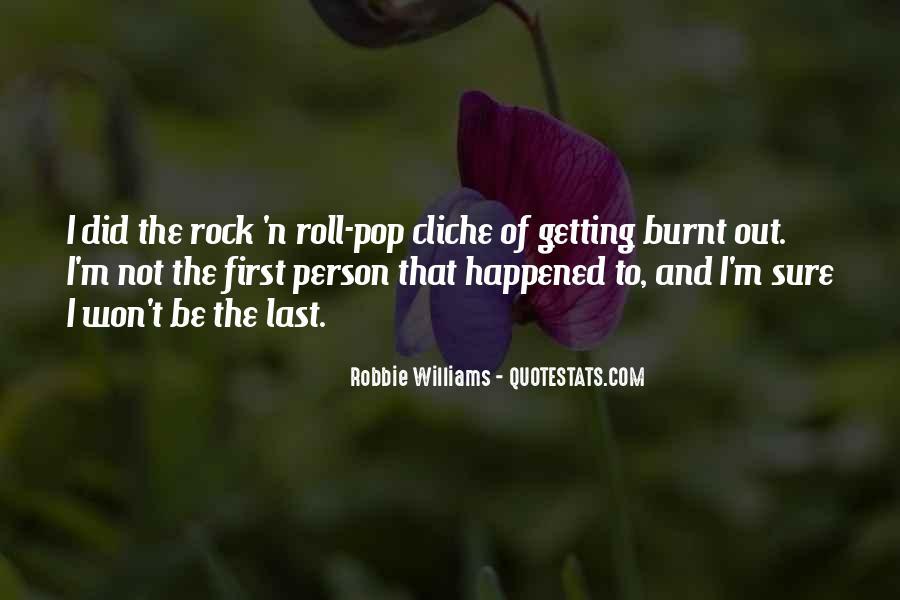 Robbie Williams Quotes #728635