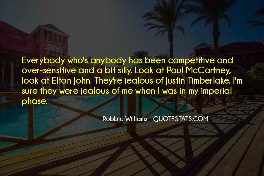 Robbie Williams Quotes #797528