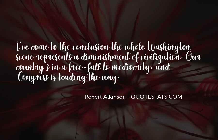 Robert Atkinson Quotes #1569038