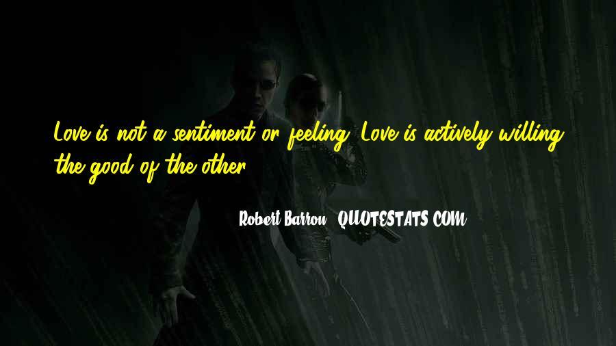 Robert Barron Quotes #1065742