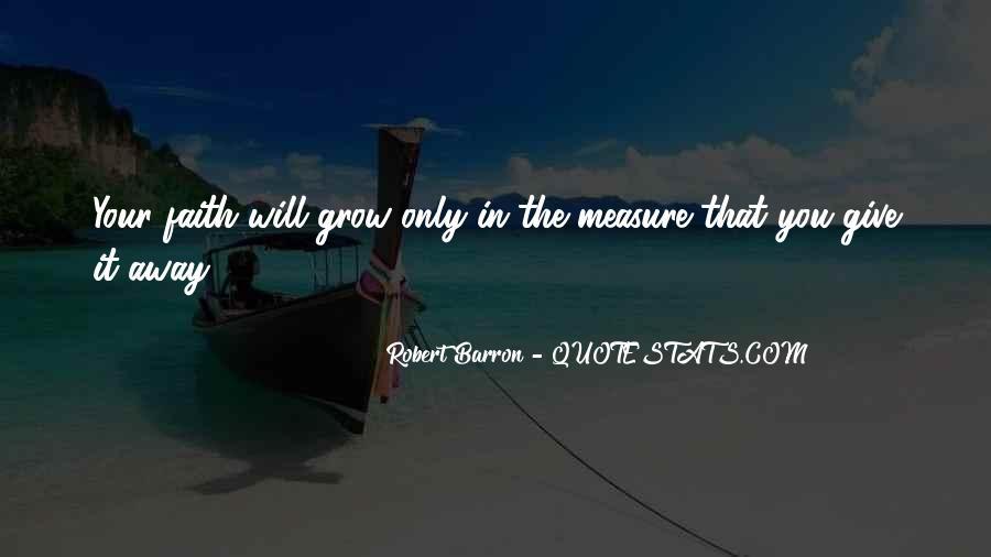 Robert Barron Quotes #1459891