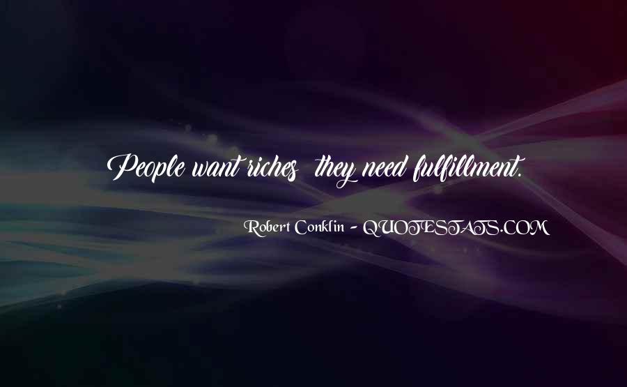 Robert Conklin Quotes #648413