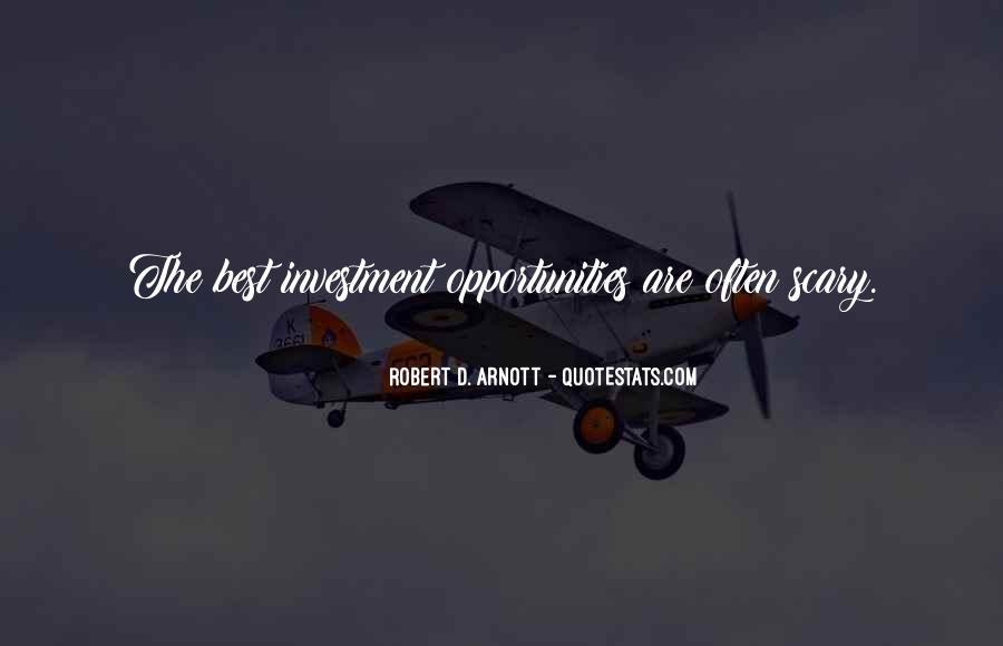Robert D. Arnott Quotes #1555971