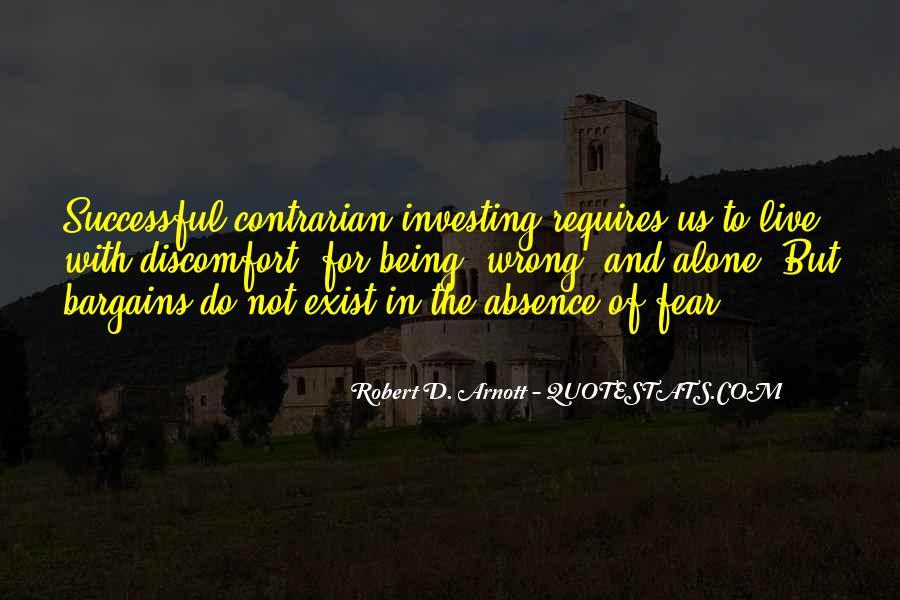 Robert D. Arnott Quotes #963034