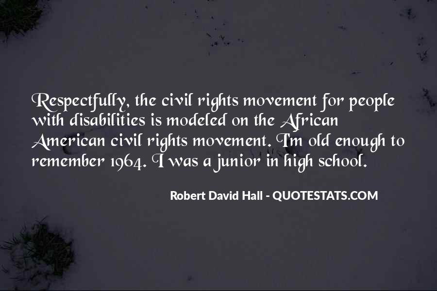 Robert David Hall Quotes #1738131