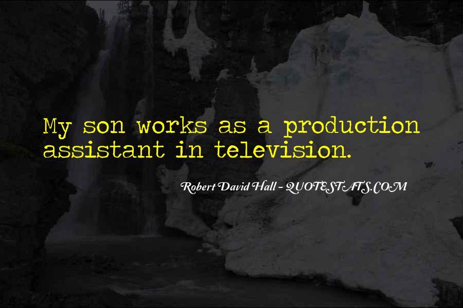 Robert David Hall Quotes #307592