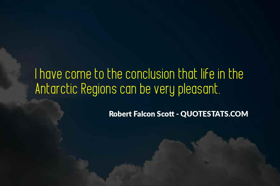Robert Falcon Scott Quotes #97507