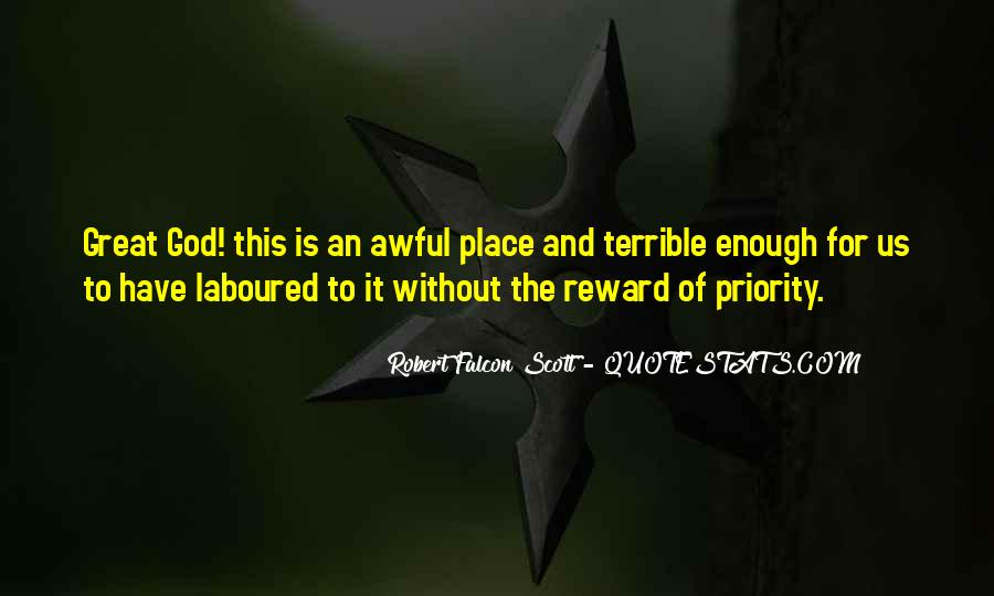 Robert Falcon Scott Quotes #985011