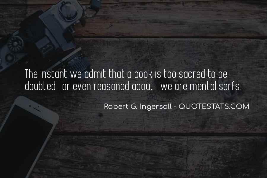Robert G. Ingersoll Quotes #1028304