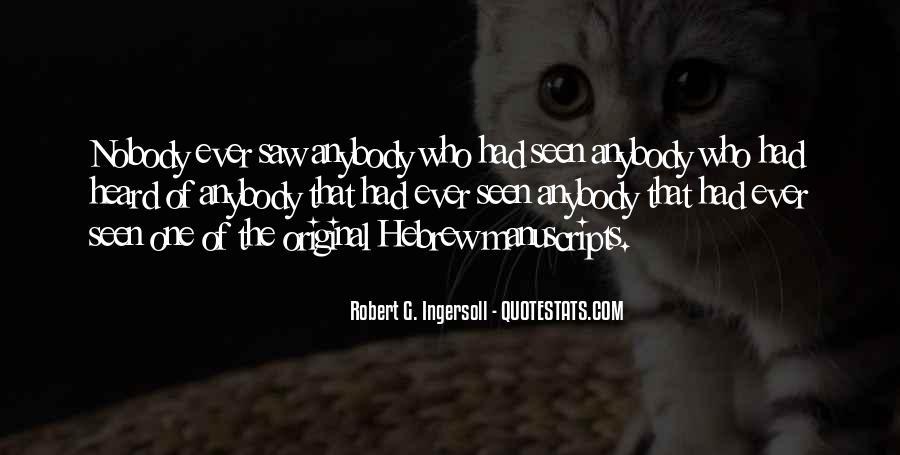 Robert G. Ingersoll Quotes #144538