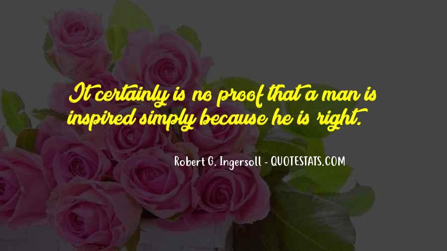 Robert G. Ingersoll Quotes #791785