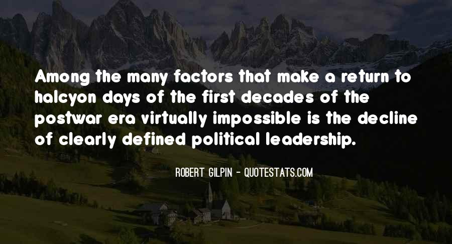 Robert Gilpin Quotes #1525518