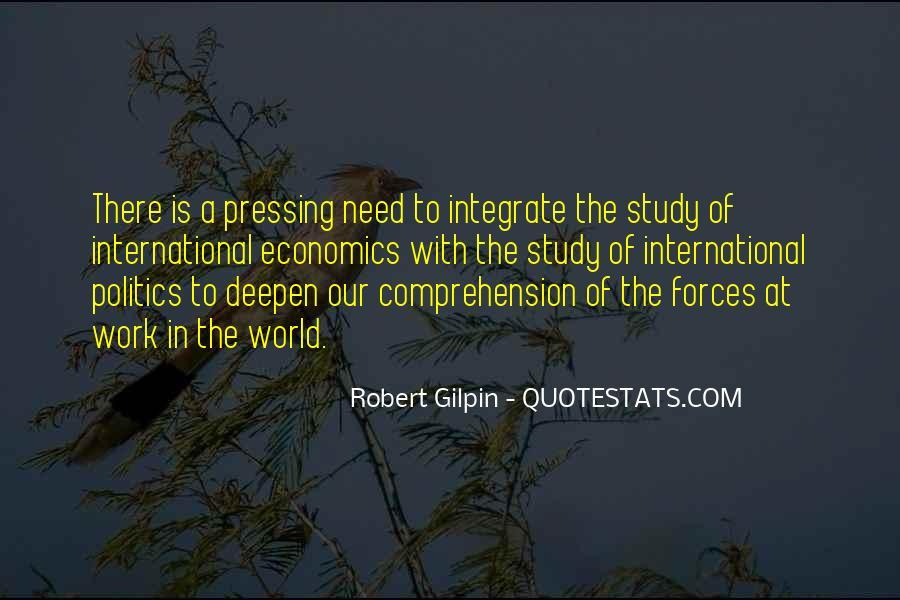 Robert Gilpin Quotes #1612643