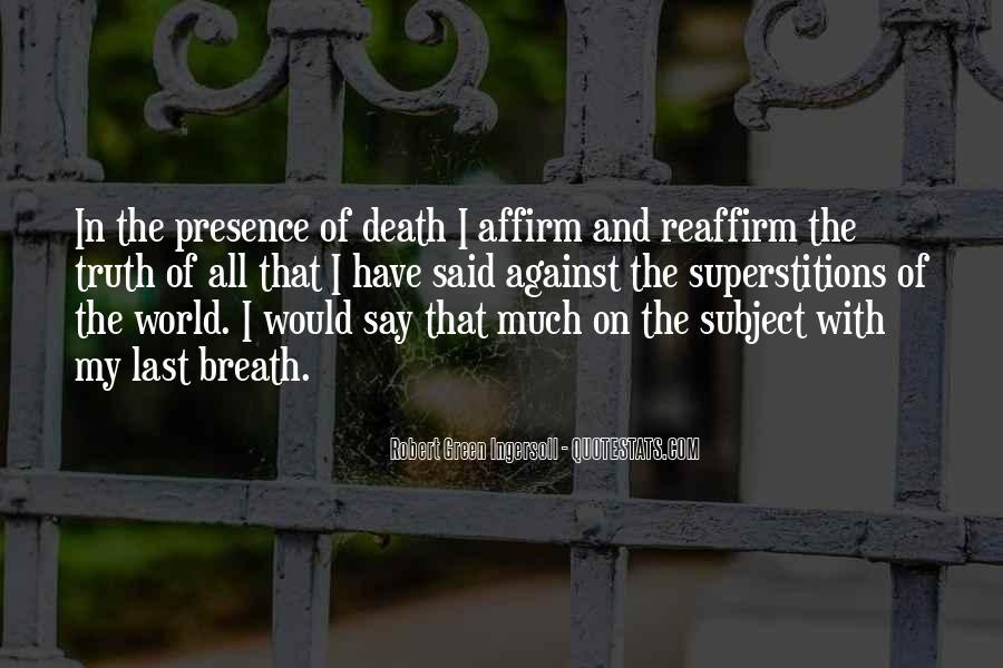 Robert Green Ingersoll Quotes #1766502