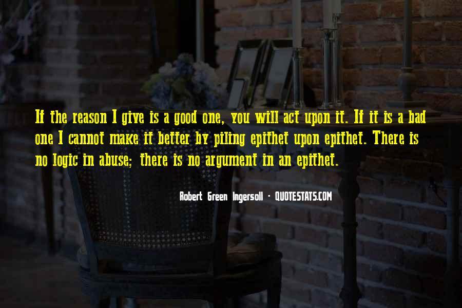 Robert Green Ingersoll Quotes #1869759