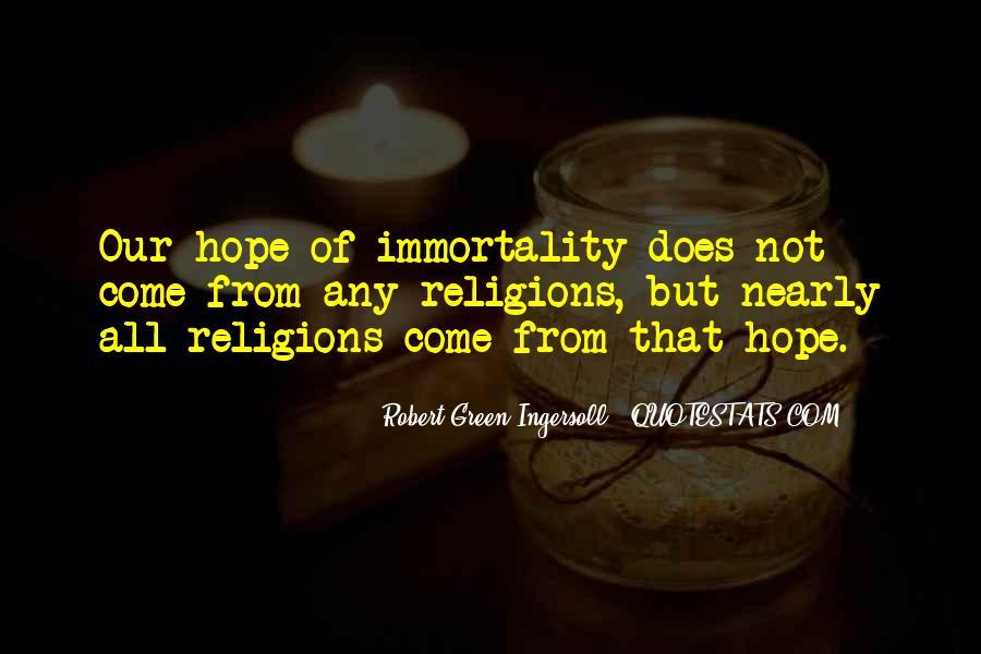 Robert Green Ingersoll Quotes #780413