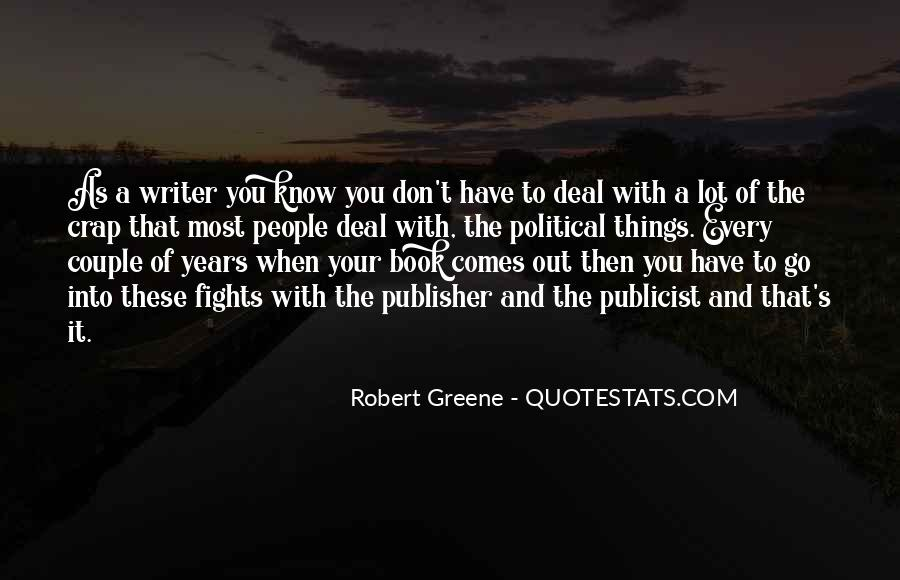 Robert Greene Quotes #133727