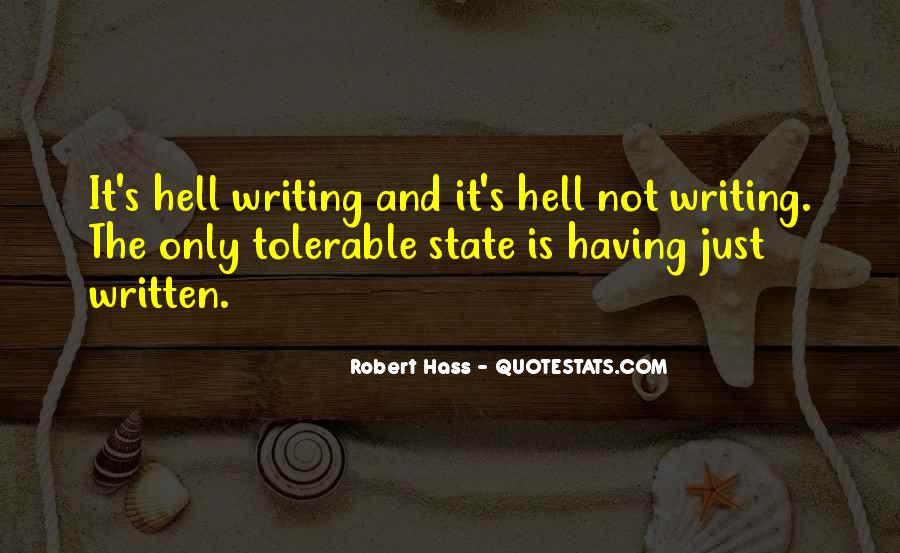 Robert Hass Quotes #40479