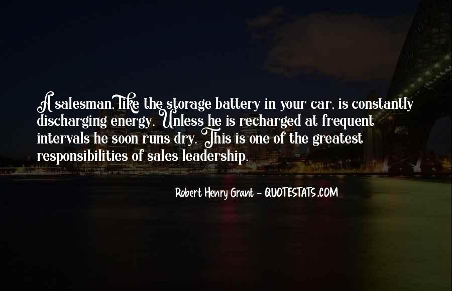 Robert Henry Grant Quotes #1577915