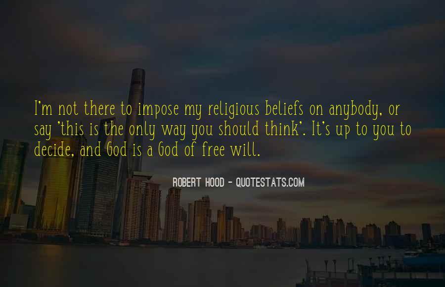 Robert Hood Quotes #1557939