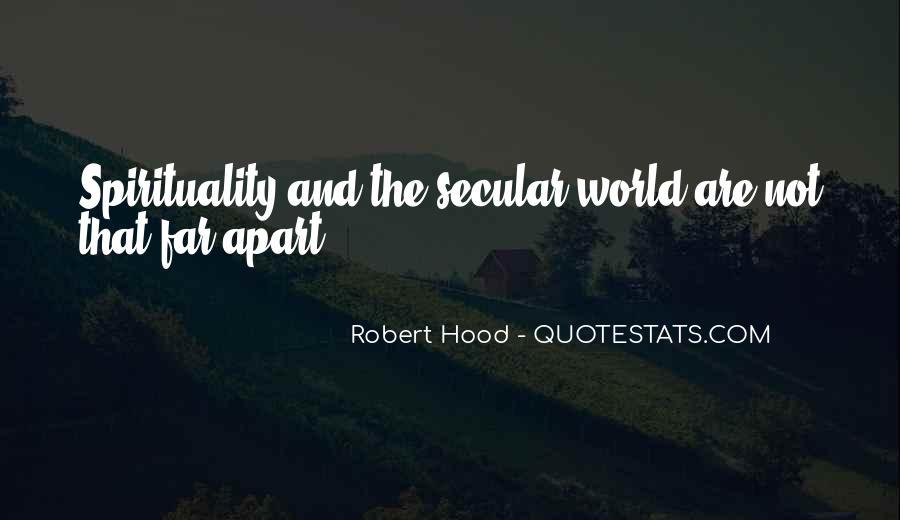 Robert Hood Quotes #671976