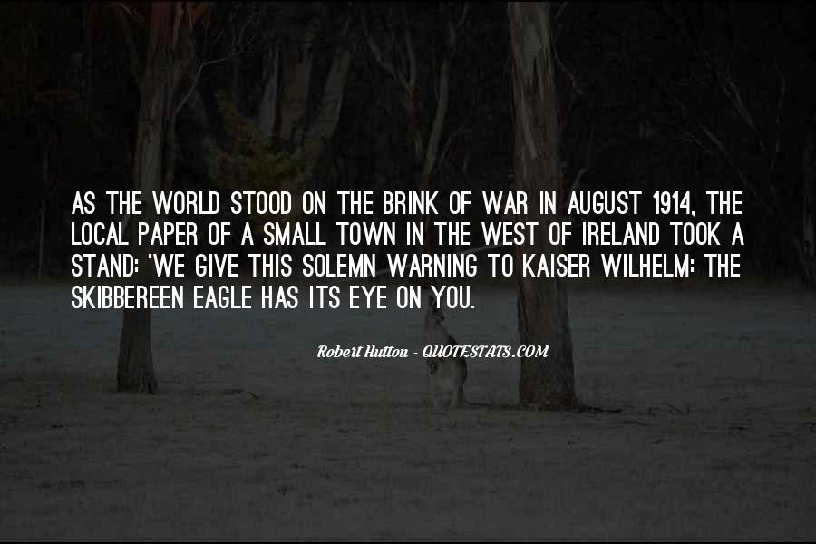 Robert Hutton Quotes #997349
