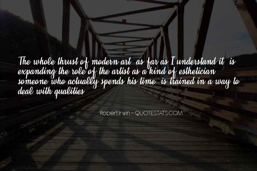 Robert Irwin Quotes #1841299