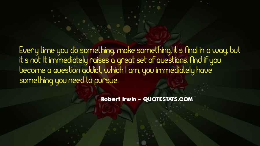Robert Irwin Quotes #763674