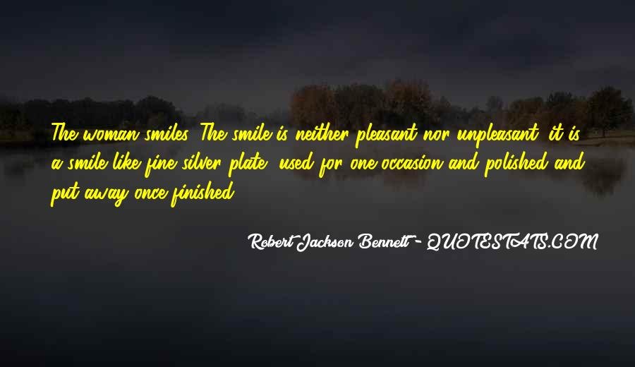 Robert Jackson Bennett Quotes #1053219