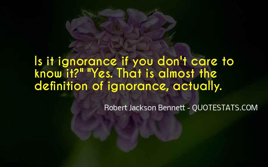 Robert Jackson Bennett Quotes #1074597