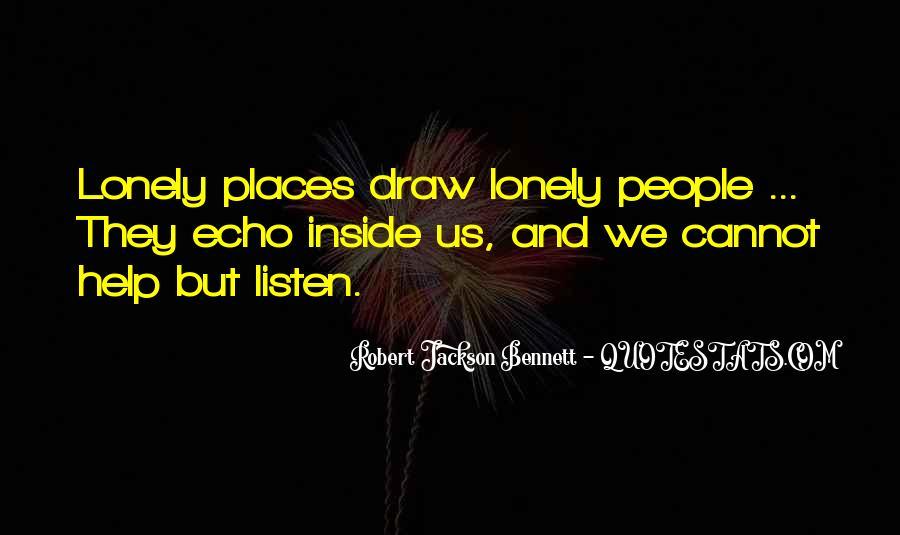 Robert Jackson Bennett Quotes #1201255
