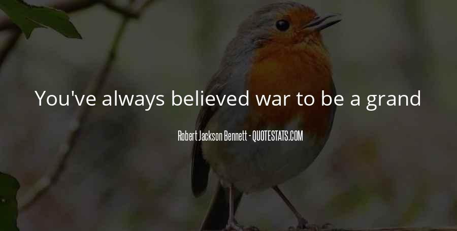 Robert Jackson Bennett Quotes #1282016