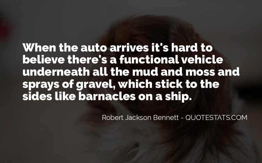 Robert Jackson Bennett Quotes #1309084